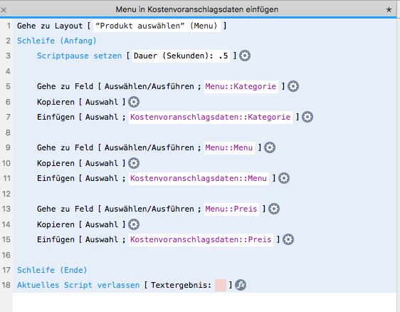 Filemaker Forum Beitrag Script Datensätze Aus Tabelle Kopieren